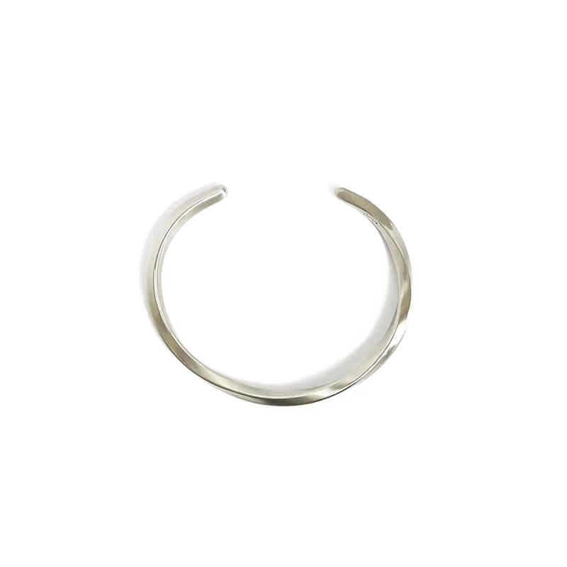 BBR403-寬容的承諾-手工手環-扭轉-白銅-01