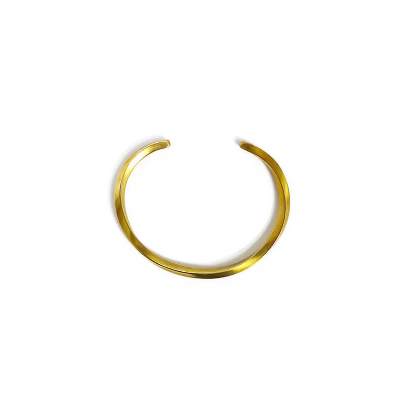BBR403-寬容的承諾-手工手環-扭轉-黃銅-01