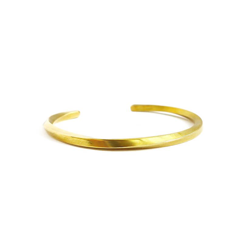 BBR403-寬容的承諾-手工手環-扭轉-黃銅-03