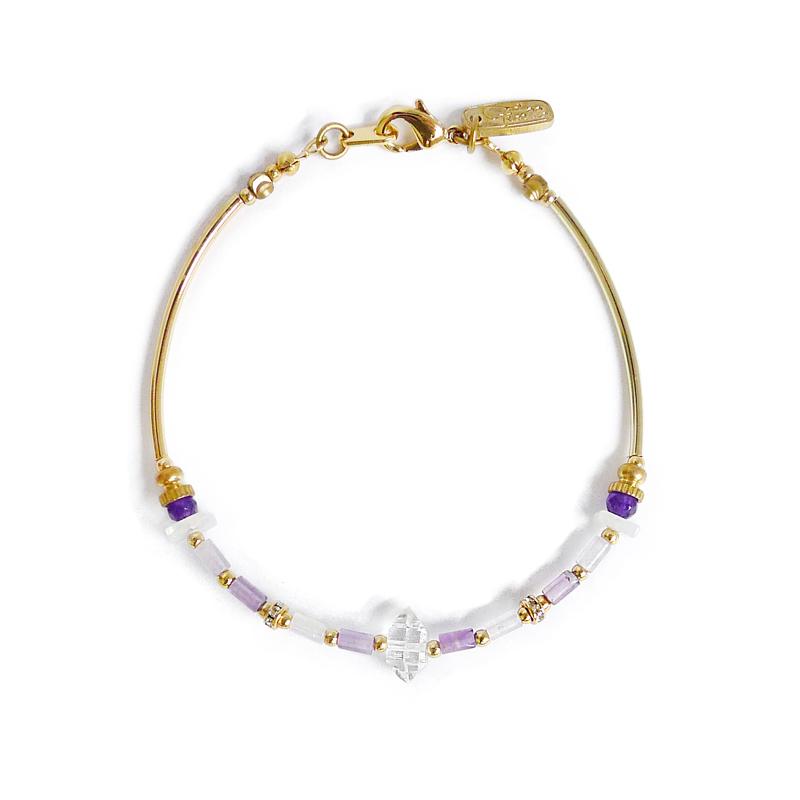 蜻蜓造雨 – 紫水晶 – 手鍊