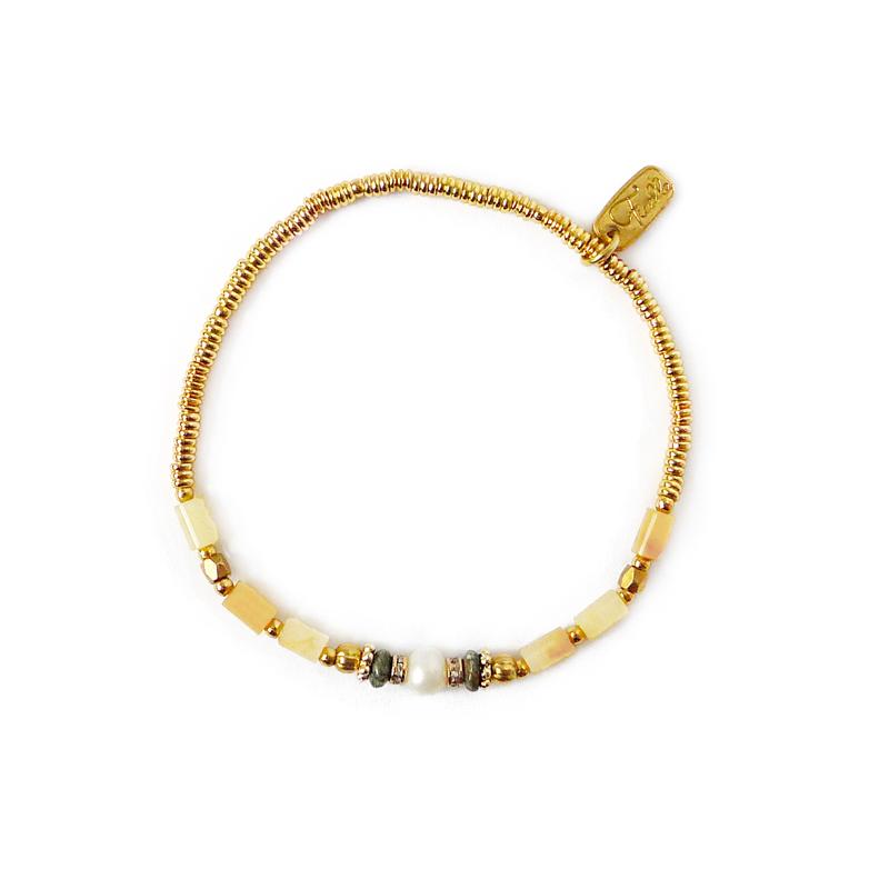凱旋門下的加冕典禮 – 黃玉 – 手鍊