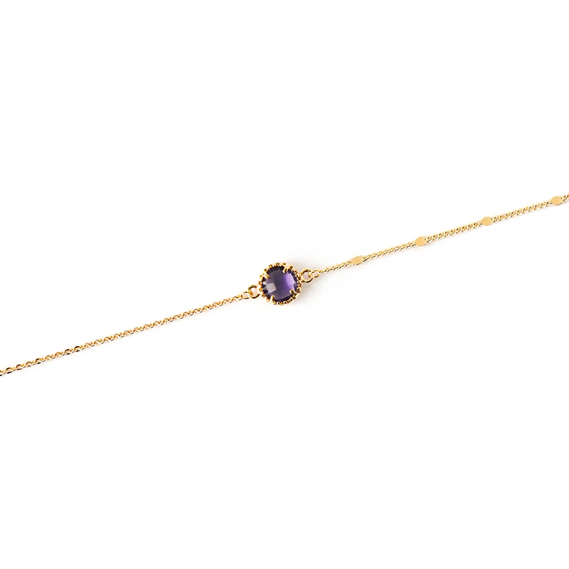 星夜裡的人 – 紫 – 手鍊