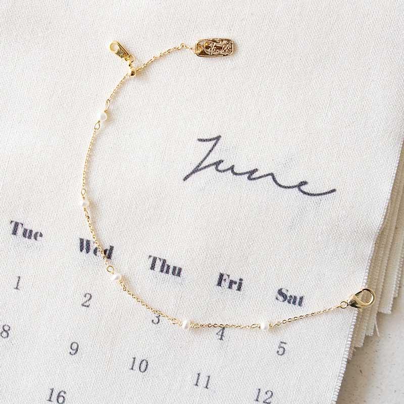 小宇宙盛事 – 誕生 – 6月 – 珍珠 – 手鍊