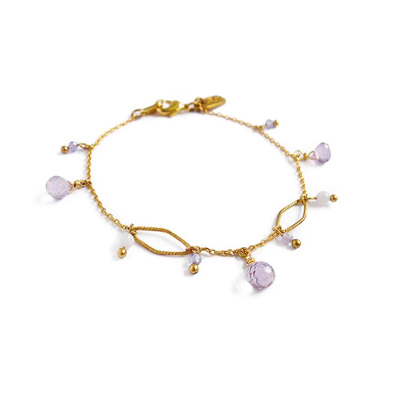 繁花序曲 – 紫蕊 – 手鍊