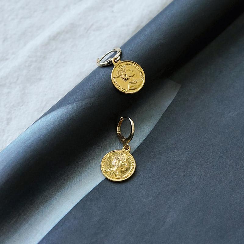 漫步塞納河畔 – 硬幣 – 耳環