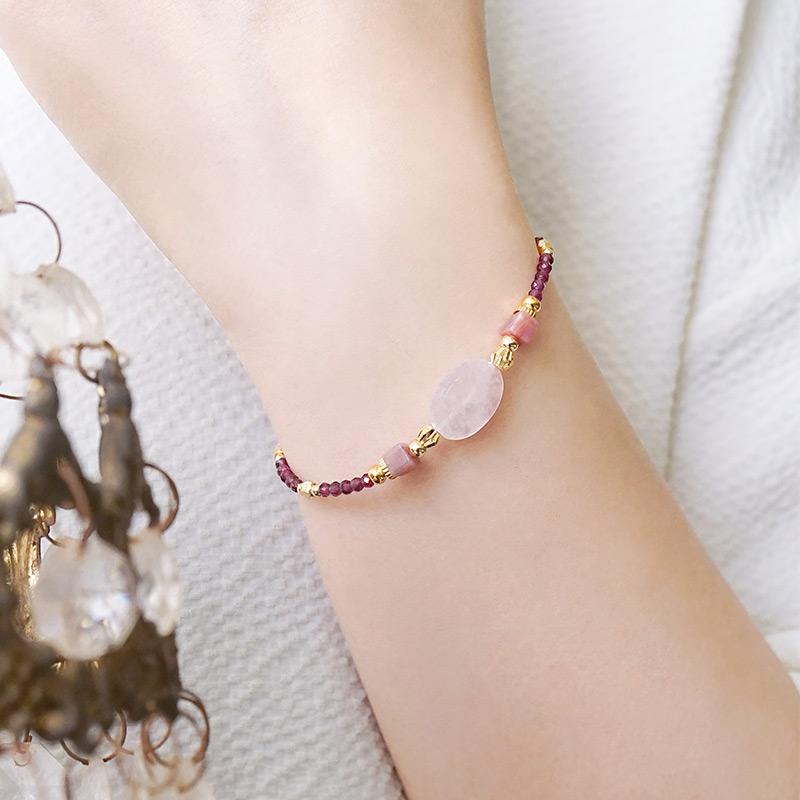 年中慶特殊款 – 粉晶– 手鍊(限量加購價699元)