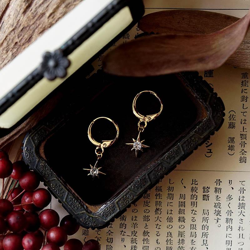 藏寶盒 – 星星 – 耳環