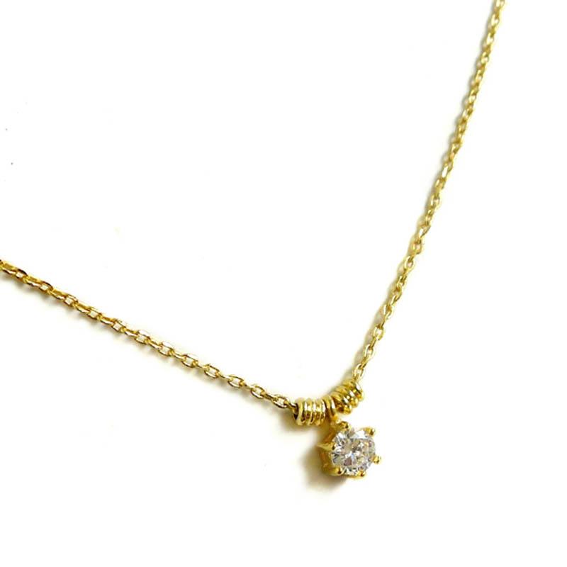 優雅鋯石款 – 圓鑽 – 項鍊