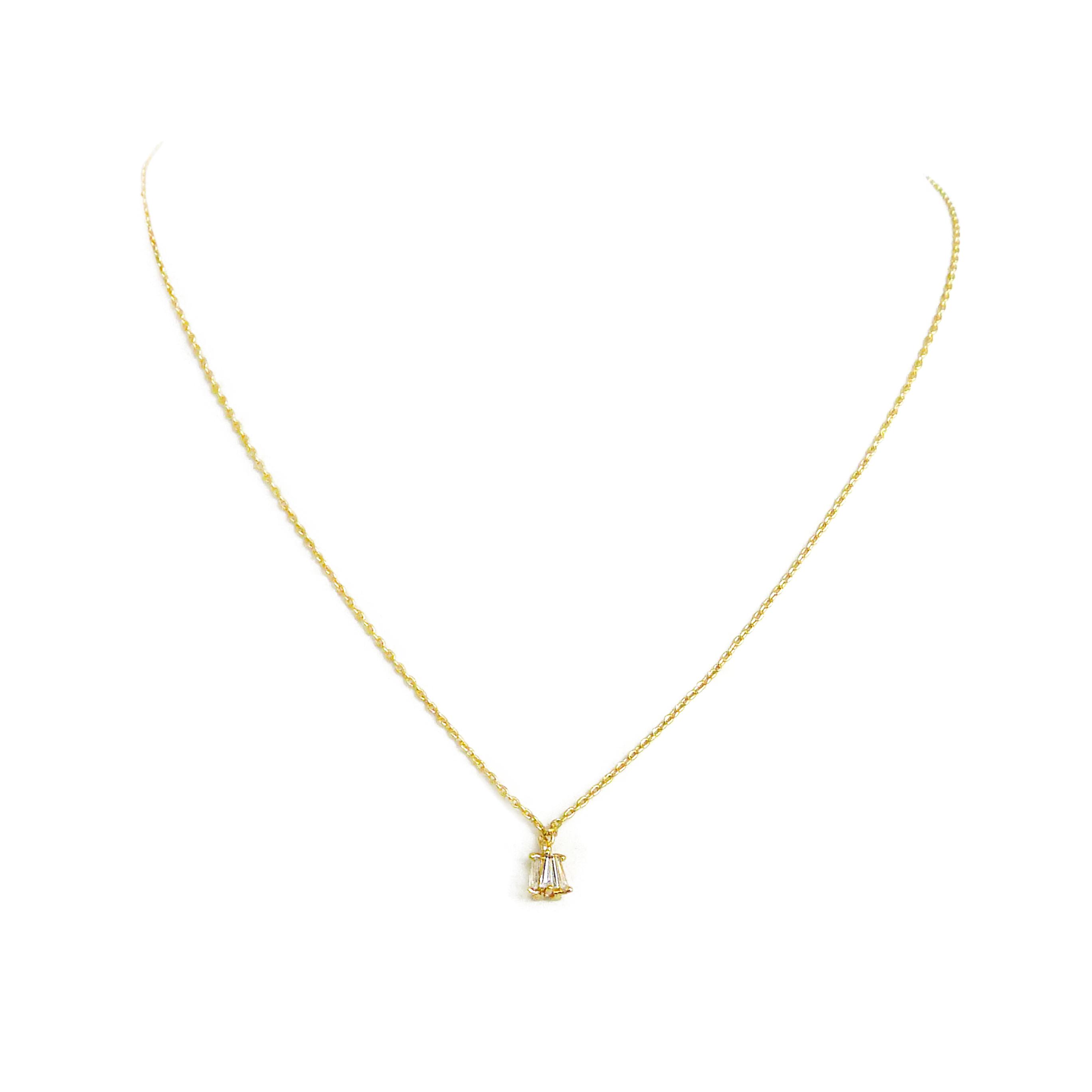 優雅鋯石款 – 浪漫 – 項鍊