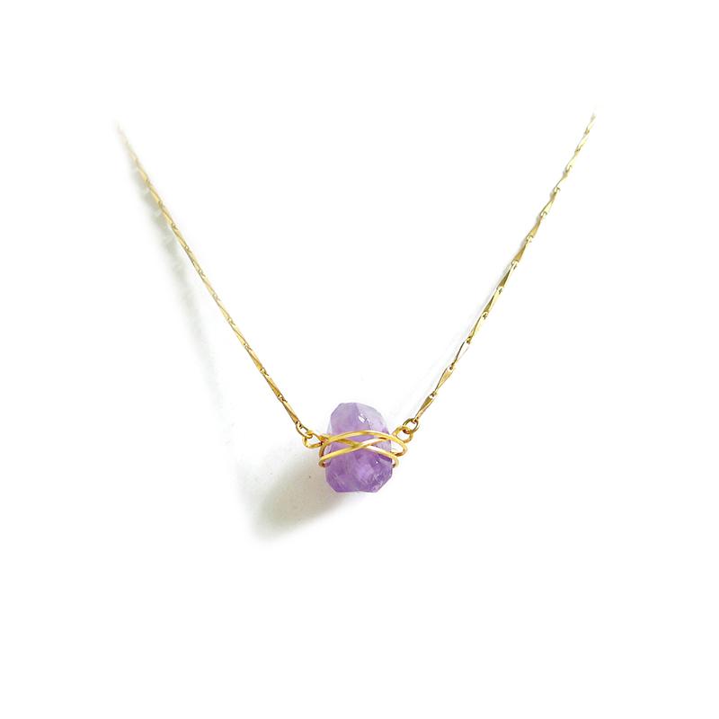 雪女的致命誘惑 – 紫水晶 – 項鍊