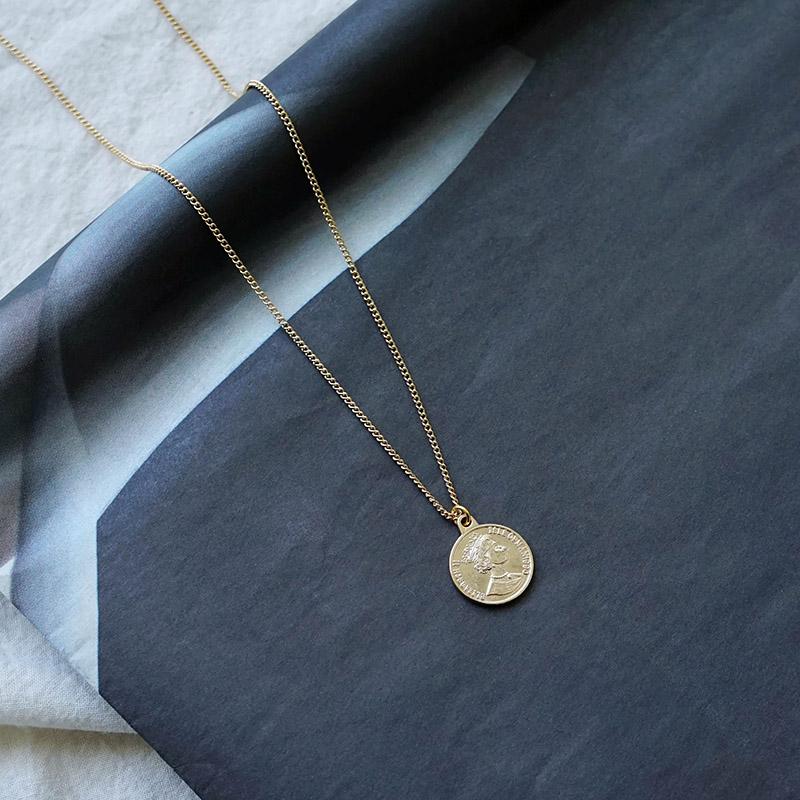 漫步塞納河畔 – 硬幣 – 項鍊