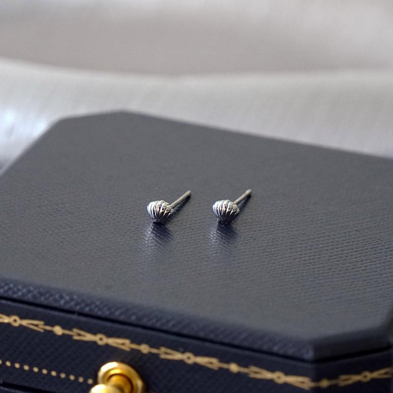 賽倫之音 – 貝殼 – 銀 – 耳環