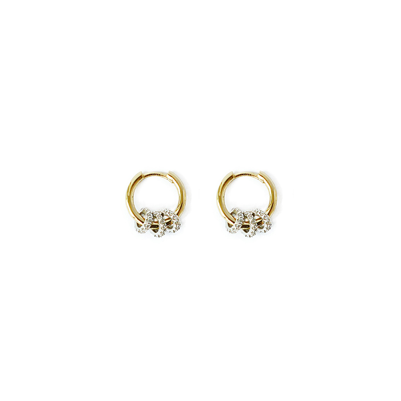 魔法少女 – 鋯石 – 耳環